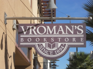Vromans sign
