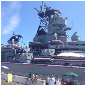 Following the story of the USS Iowa–she's a great old