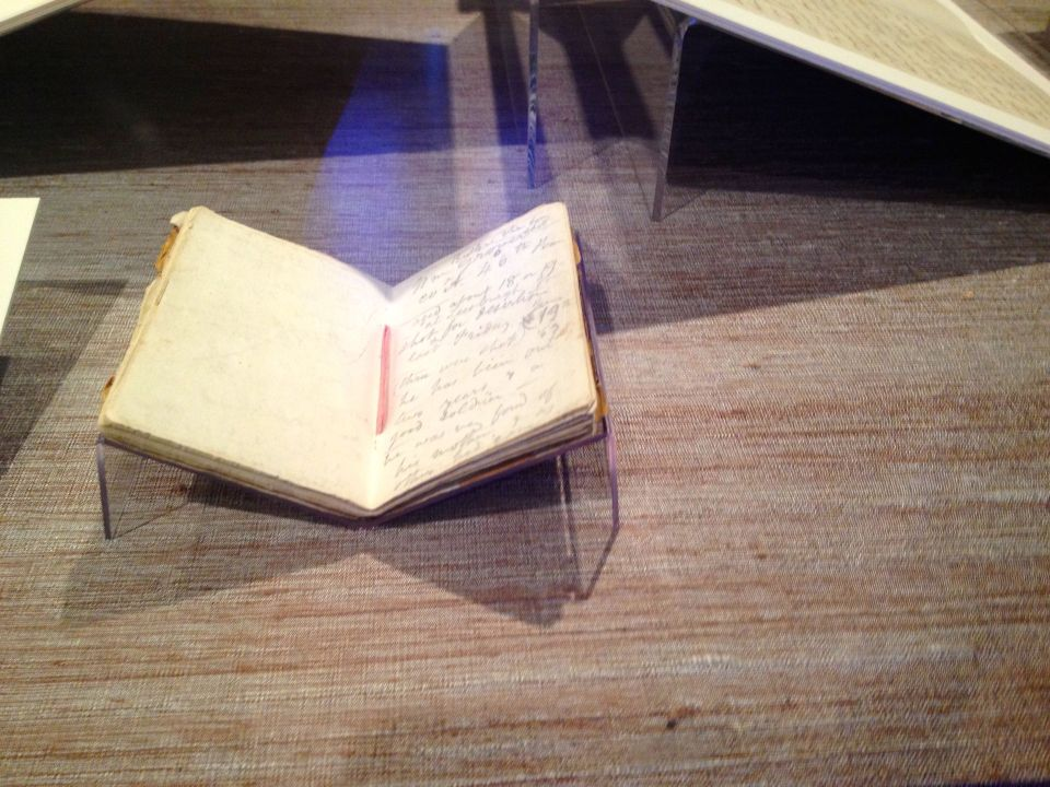Walt Whitman's hospital notebook