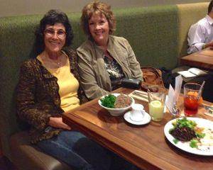 Rosie and Debra