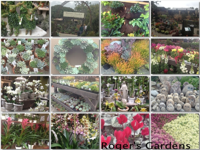 Roger's Gardens Collage