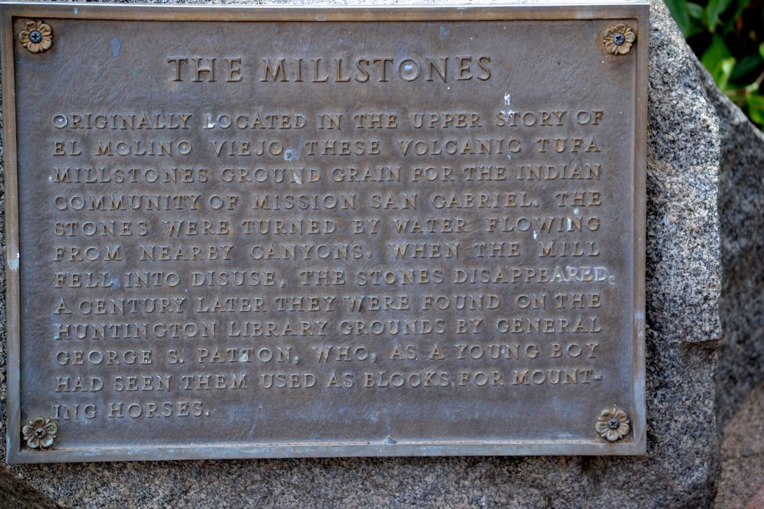 Mill Stone Plaque