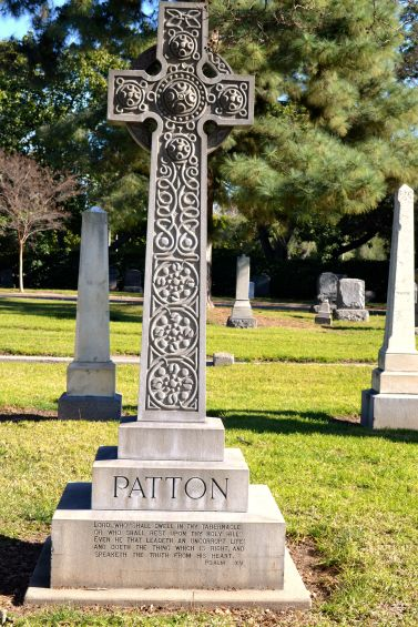 Patton monument San Gabriel Cemetery