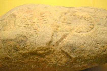 Chumash stone markings