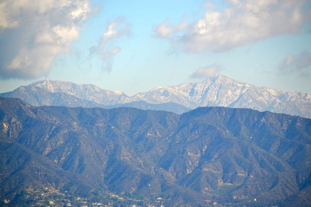 San Gabriel Mountains