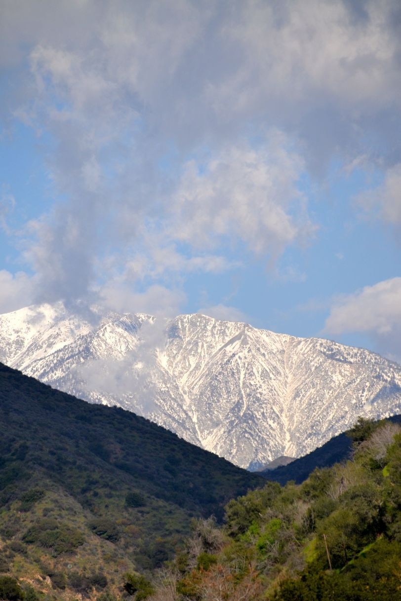 Mt. Baldy with snow