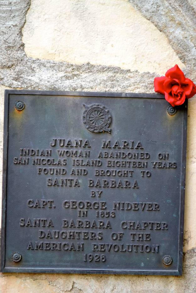Plaque of Juana Maria