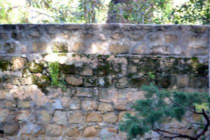 Sandstone and Mortar Walls