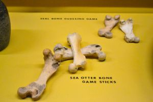 Sea Otter Bone Game Sticks