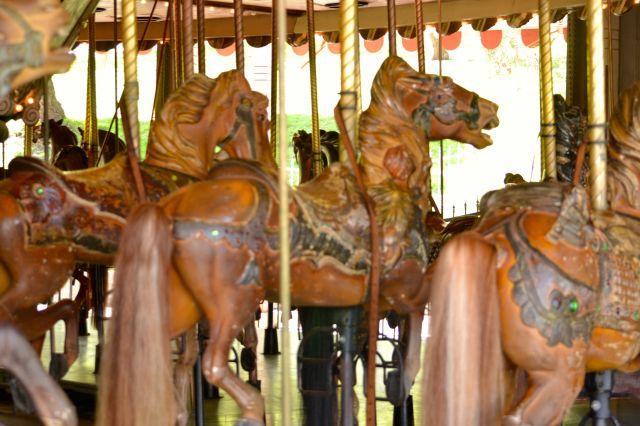 Griffith Park Carousel Horses