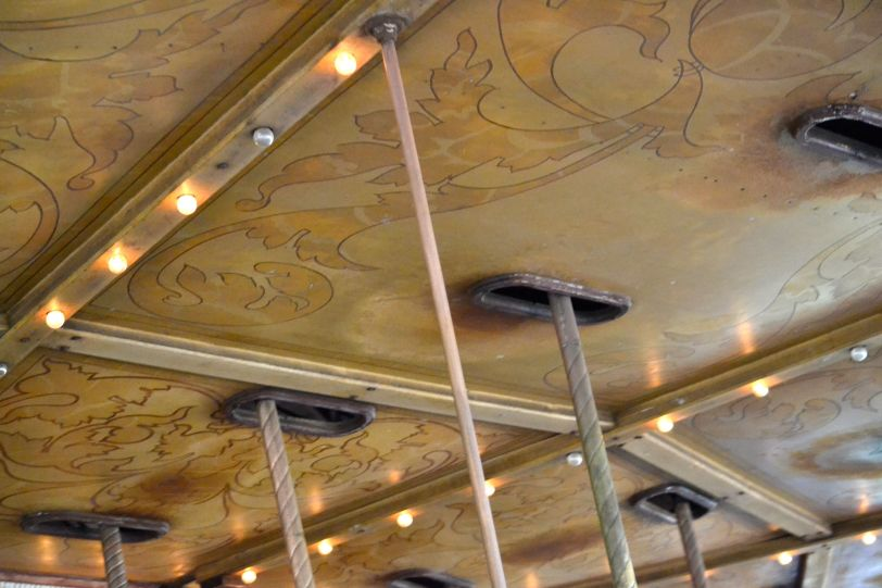 Griffith Park Carousel Ceiling Panels