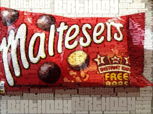 Happy Birthday Maltesers