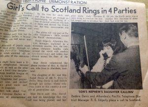 Scotland Phone Call