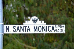 Santa Monica Blvd. Sign