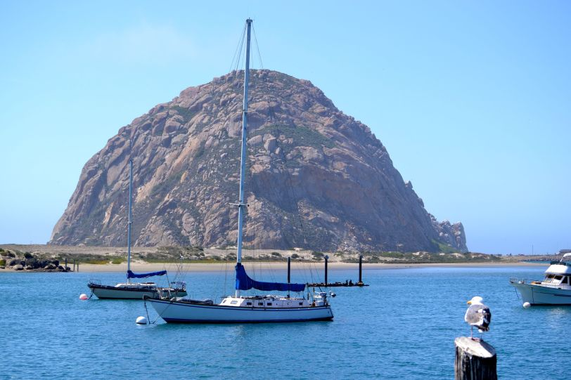 Morro Rock, Morrow Bay, CA