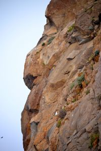 Face in the Morro Rock