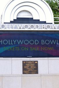 Hollywood Bowl Marquee