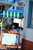 Fruit stands