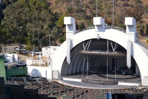 Hollywood Bowl Shell Hollywood Hills