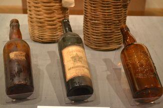 Wine bottles San Gabriel Wine Company 1888