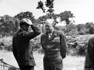 Anthony Eden and General Eisenhower