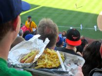 Garlic Fries and Dodger Dog