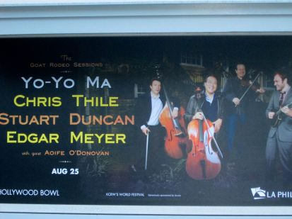 Concert Signage