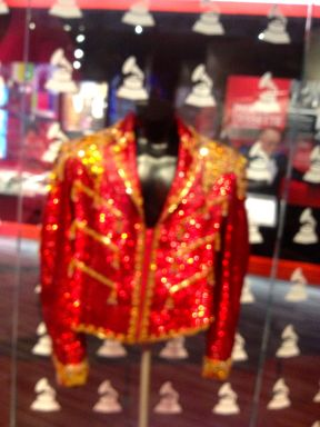 Red Sequinned Jacket