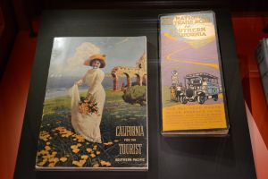 Early California tourism material produced by the railroads.