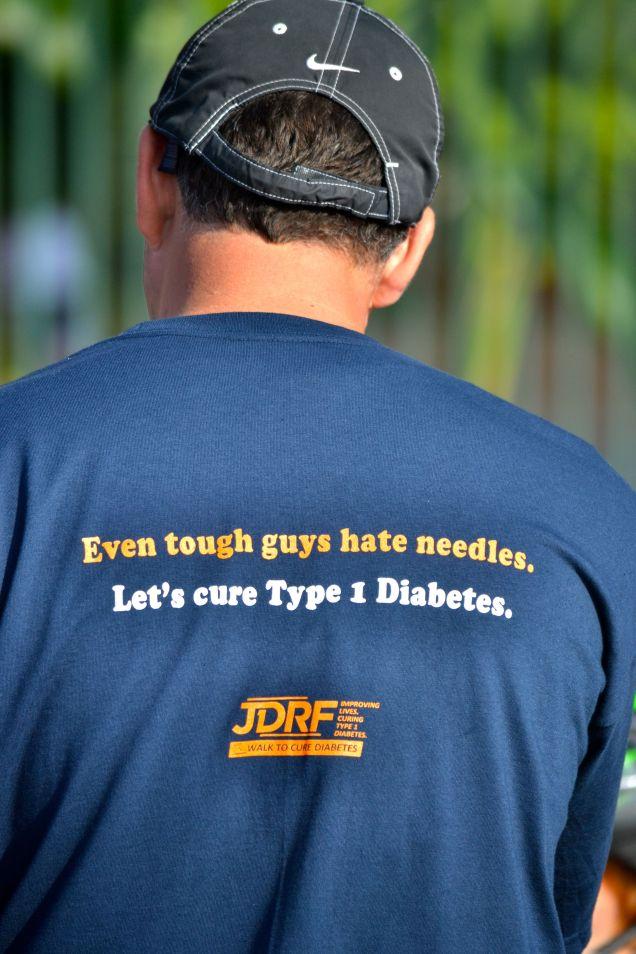 Jack's Jiants T-shirt message