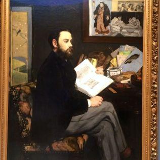 Manet's Émile Zola