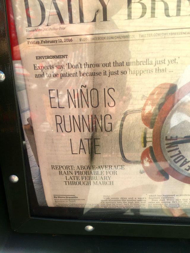El Nino Headline